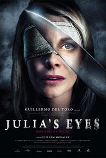 Os Olhos de Júlia - Poster / Capa / Cartaz - Oficial 3