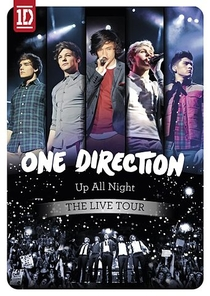 One Direction - Up All Night: The Live Tour - Poster / Capa / Cartaz - Oficial 1