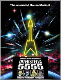 Interstella 5555 - Poster / Capa / Cartaz - Oficial 1