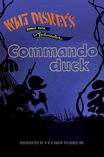 Commando Duck - Poster / Capa / Cartaz - Oficial 1