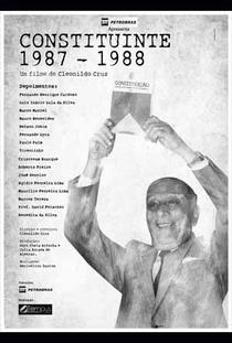Constituinte 1987-1988 - Poster / Capa / Cartaz - Oficial 1