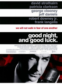 Boa Noite e Boa Sorte - Poster / Capa / Cartaz - Oficial 1
