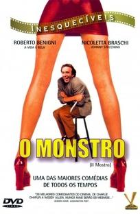 O Monstro - Poster / Capa / Cartaz - Oficial 2