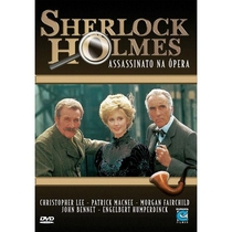 Sherlock Holmes: Assassinato na Ópera - Poster / Capa / Cartaz - Oficial 1