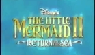 The Little Mermaid 2: Return to the Sea VHS and DVD trailer