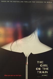 A Garota no Trem - Poster / Capa / Cartaz - Oficial 5