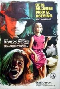 Seis Mulheres para o Assassino - Poster / Capa / Cartaz - Oficial 3