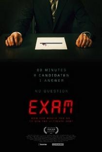 Exame - Poster / Capa / Cartaz - Oficial 1