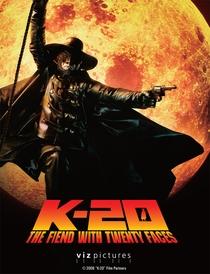 K-20: O demônio com vinte Faces - Poster / Capa / Cartaz - Oficial 1